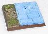 R00FB414 - 40mm square base (paved edge)