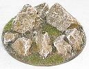 R00FB658 - 60mm flying base (rock circle)