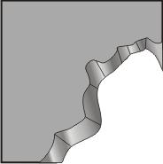 CE04  Cliff corner - convex