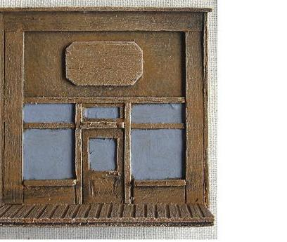R15BC701 - Wild West Frontage A (plaque)