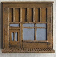R15BC702 - Wild West Frontage B (double window)