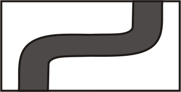 SR2F - Left to Right Double curve