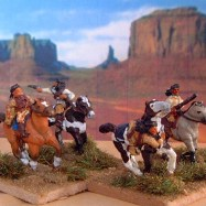 IW08 Apache Indians, mounted, mixed