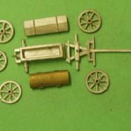 CM19 French Napoleonic Artillery Park Caisson