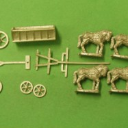 CM23 European Wagon with 4 horse team 1600-1900