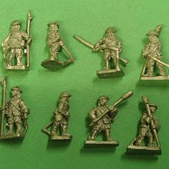 ECW21 Scottish Artillery Crew, bonnets