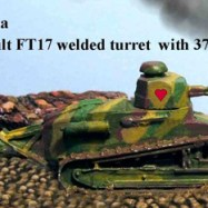 FFV04a FT17 welded turret MG
