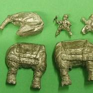 HI15 Elephant with Javelin armed crew