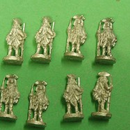 HI26 French Colonial Infantry 1750-65