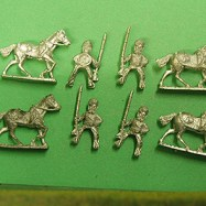 HI60 Skinners/Sikh Irregular Horse with Muskets