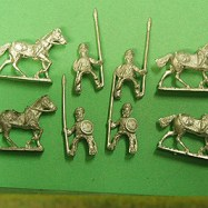 HI61 Skinners/Sikh Irregular Horse with lance and Shield