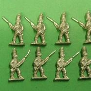 Hi62 Madras Infantry Advancing , Musket and Bayonet