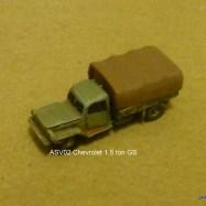 ASV02 Chevrolet 1.5 ton GS