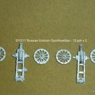 SYG11 Russian Unicorn Gun/Howitzer - 12 pdr x 2