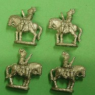PS22b Cuirassier, pistol, walking, lobster tailed 3 barred helme