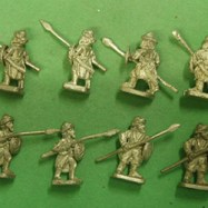 RT02 Turkish spearmen with javelin and round shields