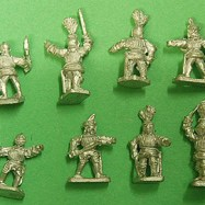 TW07 Early Tudor Foot Officers / Dismounted gendarmes