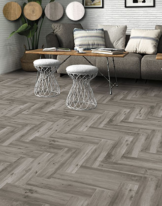 wood effect tiles boutique style at