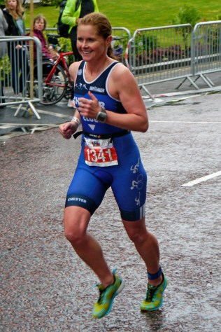 Claire Sutcliffe at Liverpool Tri 2014
