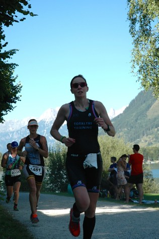 Beth Hughes at the Ironman 70.3 World Champs in Zel am See, August 2015