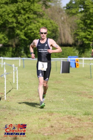 Tom Williams - Cheshire triathlon May 2016