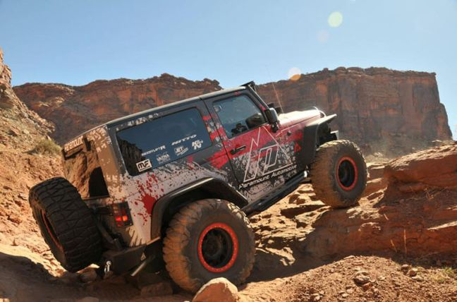Paramount Automotive 2016 Moab Easter Jeep Safari