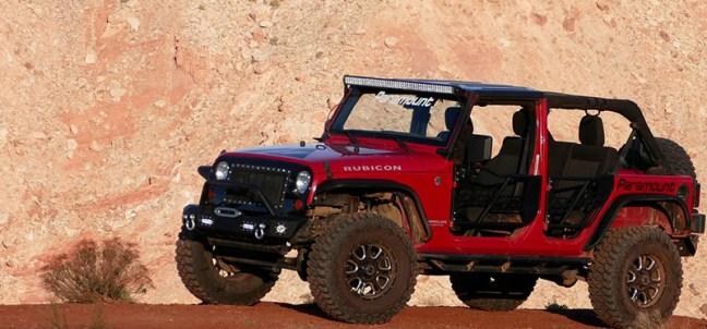 Wrangler Safari Doors Paramount Automotive