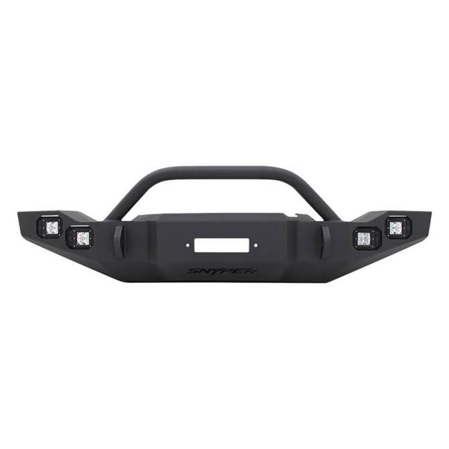 Westin Automotive (59-9525-12JKB5): Snyper Marksman Bull Bar / Front Bumper for JK