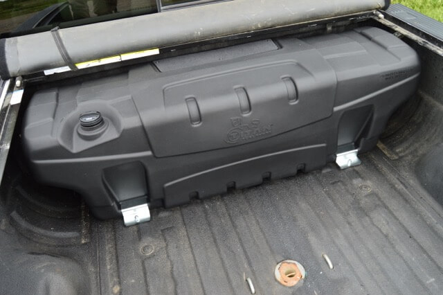 TITAN Fuel Tanks: Travel Trekker In-Bed Auxiliary Fuel Tank