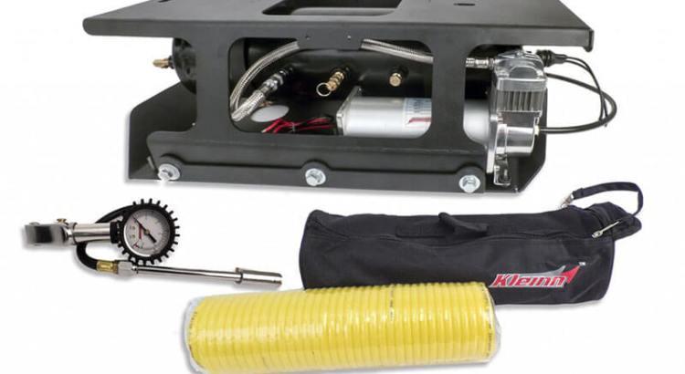 Kleinn Automotive Air Horns: Bolt-On Onboard Air System for '01-'16 JK 4-Door