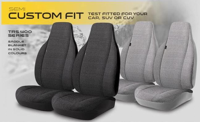 Fia: Semi-Custom-Fit Seat Covers