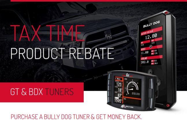 Bully Dog: Tax Time Rebate