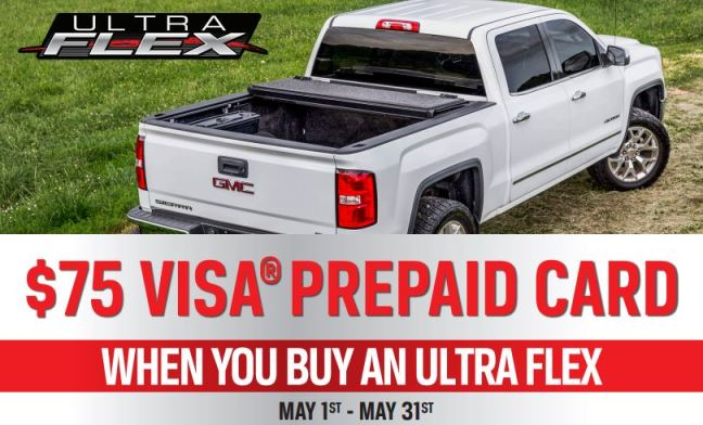 UnderCover Ultra Flex Rebate