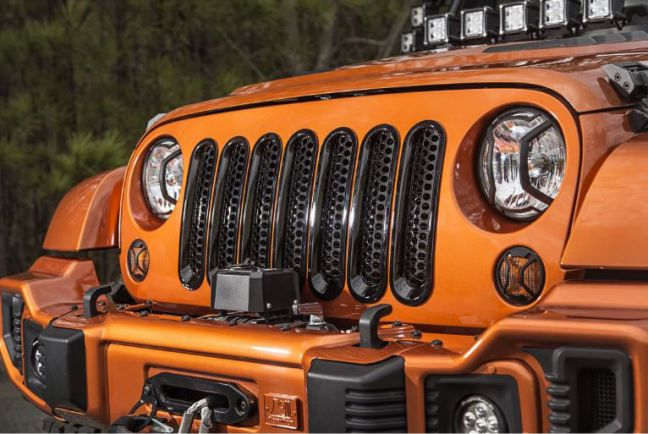 Rugged Ridge Mesh Grille Insert for JK 11306.31