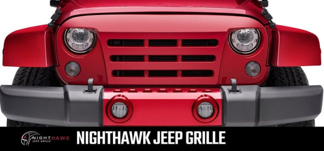 UnderCover NightHawk Replacement Grille for Jeep