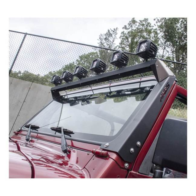 ARIES Roof Light Mounting Brackets and Crossbar for Jeep 15916