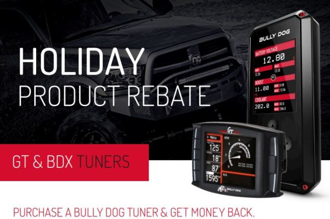Bully Dog: Get up to a $50 Rebate on Qualifying Tuner Purchases