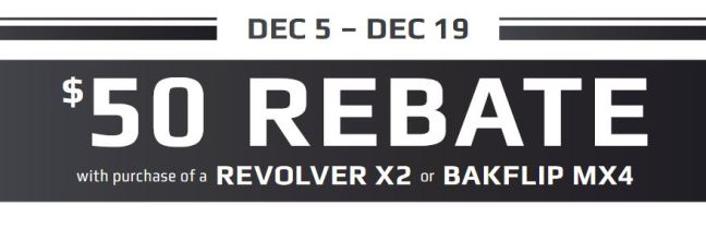 BAK Industries: Get a $50 Rebate on Revolver X2 or BAKFlip MX4 Truck Bed Cover