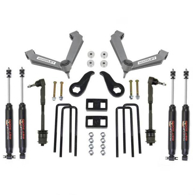 "ReadyLIFT (69-3514): 3.5""F / 2""R Lift Kit for 2011+ GM 2500HD"