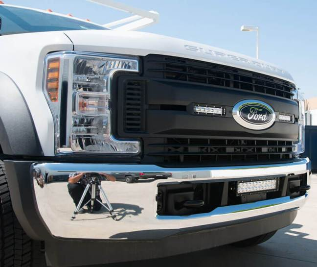 ZROADZ: OEM LED Grille Insert Kits for '18-'19 Ford Super Duty XL