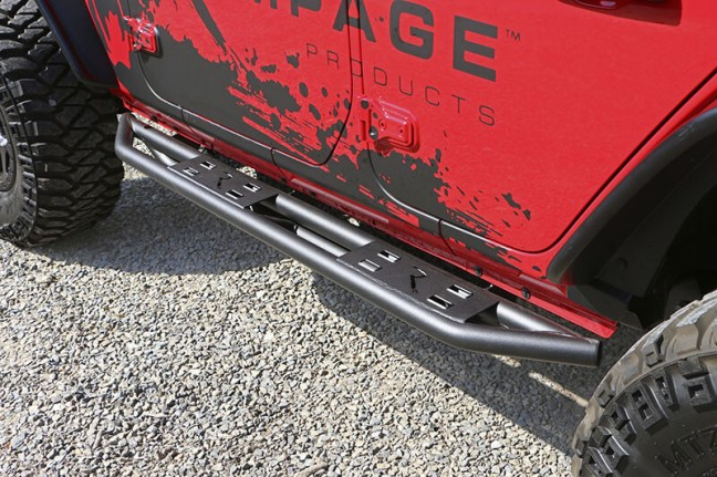 Rampage Products: TrailCrawler Steps Added to Jeep Wrangler JL Lineup