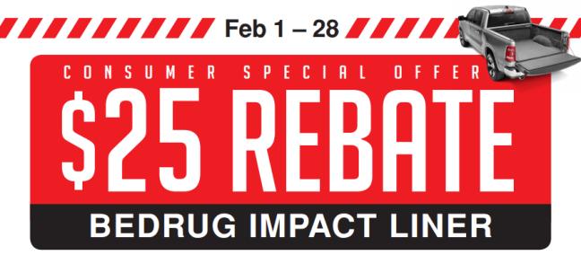 BedRug $25 Back on Impact Liner