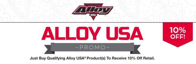 Alloy USA: Get 10% Back on Qualifying Products