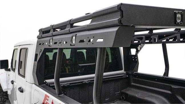Fab Fours (JTOR-01-1): Overland Rack for 2020 Jeep Gladiator JT