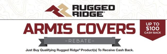 Rugged Ridge: Get $100 Back on Armis Truck Bed Covers