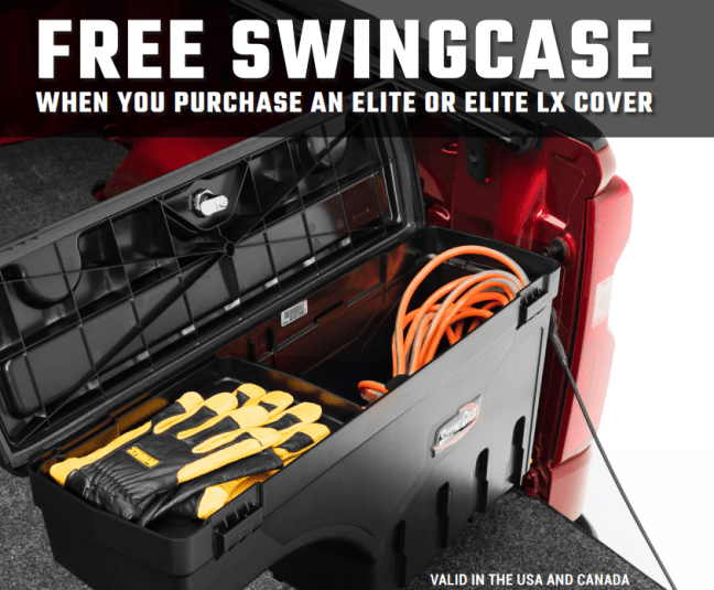 UnderCover: Get a Free SwingCase with Elite or Elite LX Truck Bed Cover Purchase