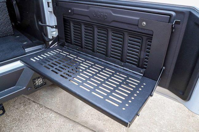 Dee Zee Rear Door Work Bench for Jeep Wrangler DZ4469JL