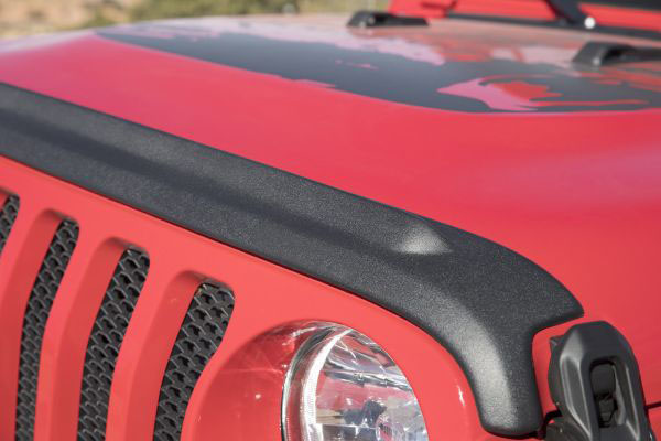 Bushwacker (14093): Trail Armor Hood Stone Guard for Jeep JL and Gladiator