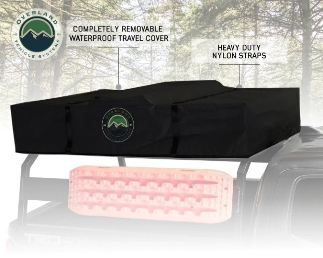 Overland Vehicle Systems (18039936): Nomadic 3 Extended Roof Top Tent