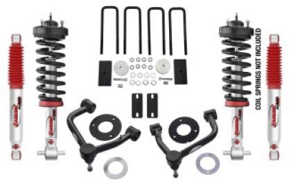 "Rancho (RS66311R9): 3"" Suspension System for `19-`20 Chevy/GMC Silverado/Sierra 1500"